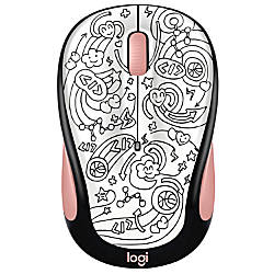 Logitech Doodle Collection M325C Wireless Mouse