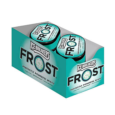 Ice Breakers® Sugar-Free Mints, Wintercool, 1.5 Oz, Box Of 8