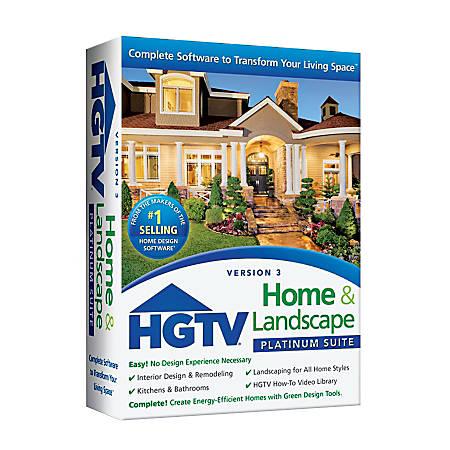 HGTV® Home & Landscape Platinum Suite 3.0, Traditional Disc