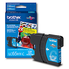Brother Genuine LC65HY C High Yield