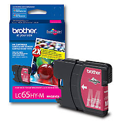 Brother LC65HY M High Yield Magenta