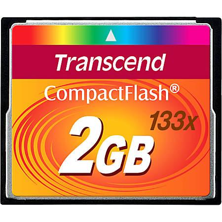 Transcend 2GB CompactFlash Card (133x)