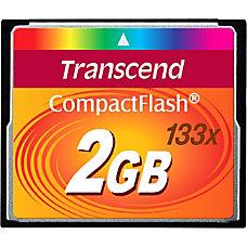 Transcend 2GB CompactFlash Card 133x