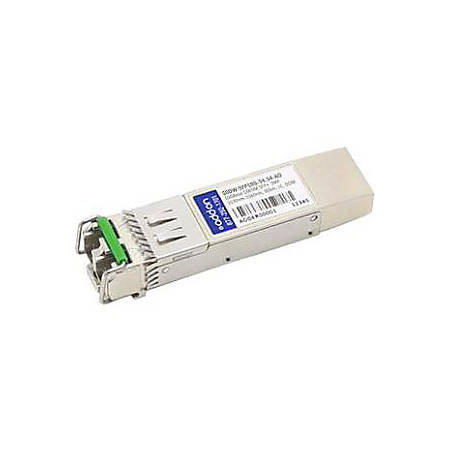 AddOn Cisco Compatible TAA Compliant 10GBase-DWDM 50GHz SFP+ Transceiver (SMF, 1554.54nm, 80km, LC, DOM)
