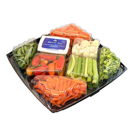 National Brand Gourmet Vegetable Tray, 4 Lb