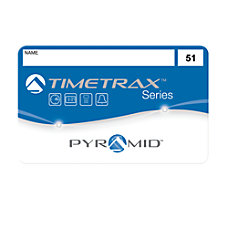 Pyramid 41304 TimeTrax Time Attendance Badges