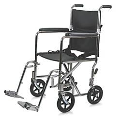 Medline Steel Transport Chair 19 Seat
