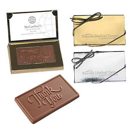 Chocolate and business card holder 1 oz by office depot officemax chocolate and business card holder 1 colourmoves
