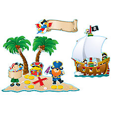 Carson Dellosa Bulletin Board Set Pirates