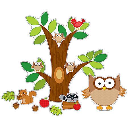Carson-Dellosa Bulletin Board Set, Owls
