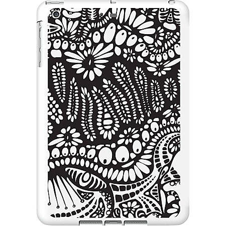 OTM iPad Air White Glossy Case New Age Collection, Paisley - For Apple iPad Air Tablet - Paisley - White - Glossy