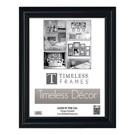 "Timeless Frames® Boca Wall Frame, 11"" x 14"", Black"