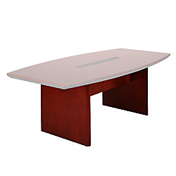 Mayline Group Corsica Conference Table Base For X Boat Shaped - 42 x 96 conference table