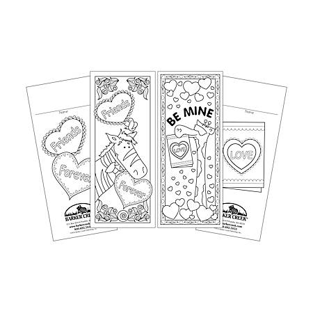 Barker Creek Bookmark Duets, Valentine's Day, Pack Of 60