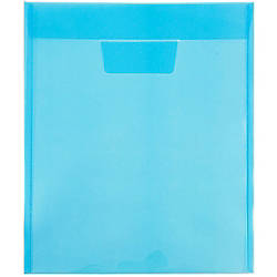 JAM Paper Plastic Envelopes With Tuck