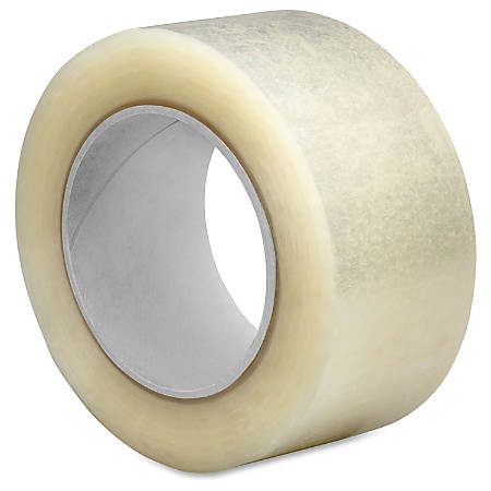 """Sparco 2.5mil Hot-melt Sealing Tape - 3"""" Width x 55 yd Length - Long Lasting, Easy Unwind - 24 / Carton - Clear"""