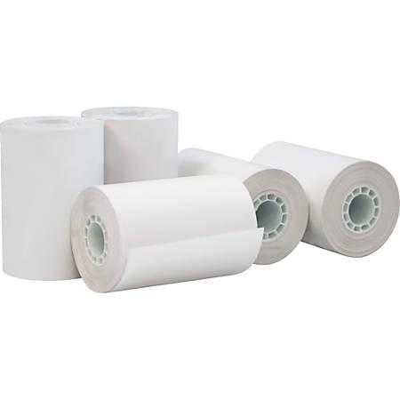 "PM Thermal Print Thermal Paper - 2 1/4"" x 75 ft - 50 / Carton - White"
