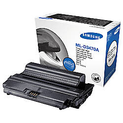 Samsung ML D3470A Black Toner Cartridge