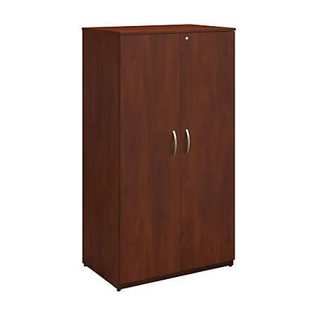 """Bush Business Furniture Components Elite Storage Wardrobe Tower, 36""""W, Hansen Cherry, Standard Delivery"""