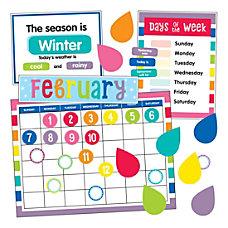 Schoolgirl Style Hello Sunshine Calendar Bulletin