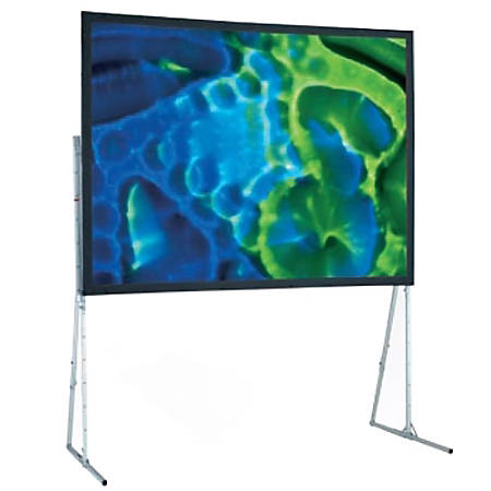 "Draper Ultimate Folding Screen 241033 199.2"" Manual Projection Screen - Yes - 4:3 - Flexible Matt White - 126"" x 168"""