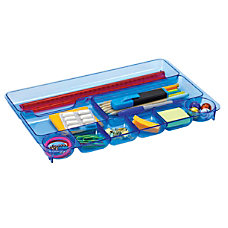 Officemate Blue Glacier Drawer Tray 1