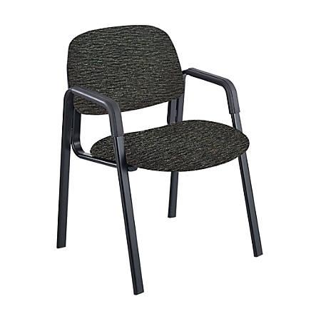 Safco® Cava® Urth™ Fabric Straight-Leg Guest Chair, Black