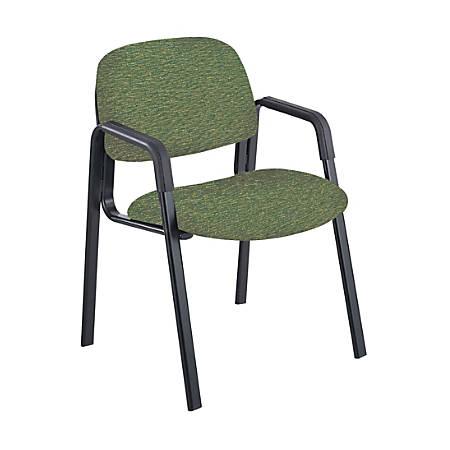 Safco® Cava® Urth™ Fabric Straight-Leg Guest Chair, Green/Black
