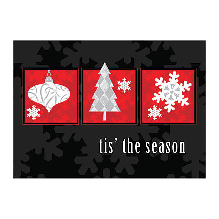 "Custom Full-Color Holiday Cards With Envelopes, 7"" x 5"", Holiday Wonders, Box Of 25 Cards"