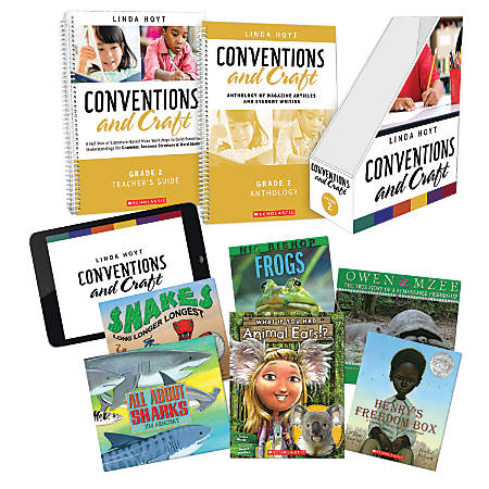 Scholastic Professional Conventions And Craft Instruction Kit, 2nd Grade