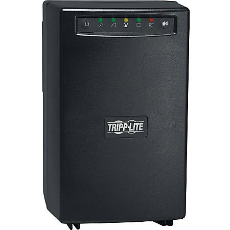 Tripp Lite UPS 1500VA 940W Battery Back Up Tower AVR 120V RJ11 RJ45 - Tower - 4 Hour Recharge - 5 Minute Stand-by - 110 V AC Input - 120 V AC Output - 2 x NEMA 5-15R, 6 x NEMA 5-15R