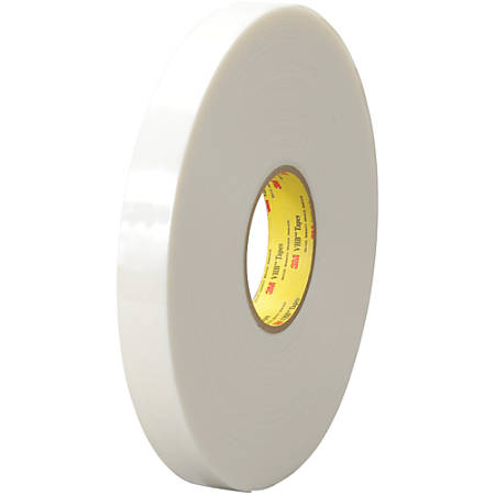 """3M™ VHB™ 4951 Tape, 1.5"""" Core, 1"""" x 5 Yd., White"""