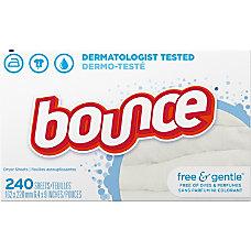Bounce FreeGentle Fabric Sheets Cloth 430