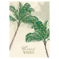 Personalized Regional Holiday Cards FSC Certified