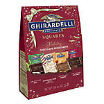Ghirardelli® Assorted Holiday Chocolate Squares, 14.8 Oz Bag