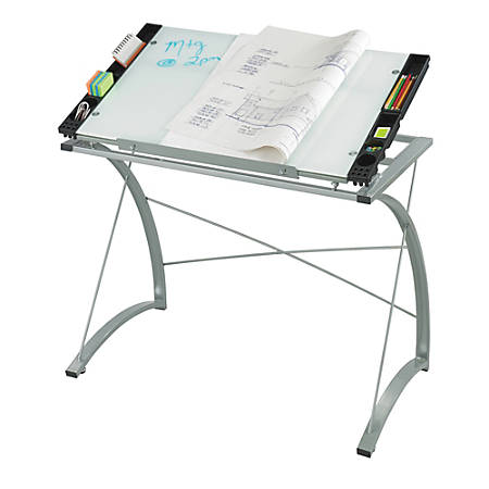Safco Expressions Gl Top Drafting Table