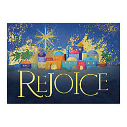 Personalized religious holiday cards fsc certified 7 78 x 5 58 personalized religious holiday cards fsc certified m4hsunfo