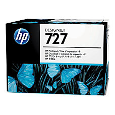 HP 727 GrayYellowCyanMagentaMatte BlackPhoto Black Printhead