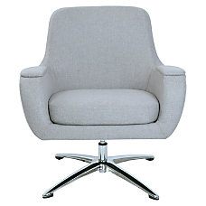 Lorell Nirvana Swivel Lounge Chair Gray