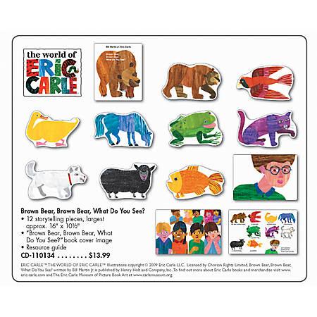 Carson-Dellosa Bulletin Board Set, Brown Bear