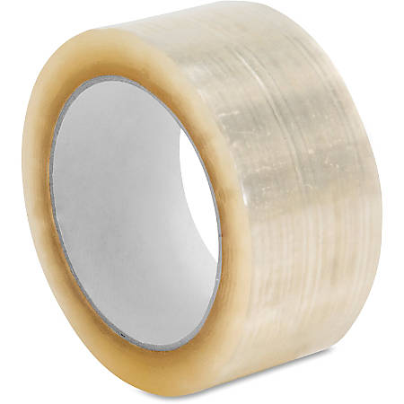 "Sparco 3.0mil Hot-melt Sealing Tape - 2"" Width x 55 yd Length - Long Lasting, Easy Unwind - 36 / Carton - Clear"
