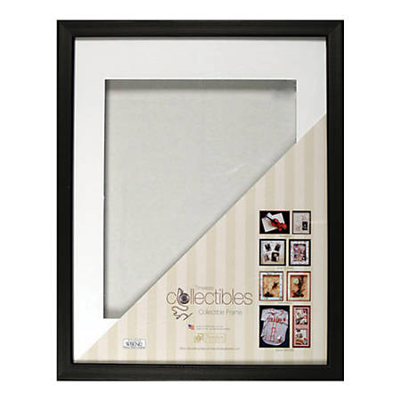"Timeless Frames® Collectible Shadow Box Frames, 16"" x 20"", Black"