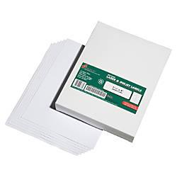SKILCRAFT 100percent Recycled InkjetLaser Address Labels