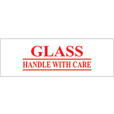 Tape Logic Glass Handle With Care