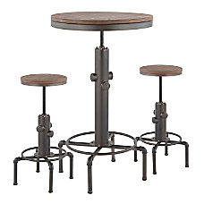 LumiSource Hydra Industrial Table With 2