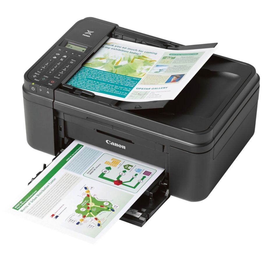 Canon Pixma Wireless Color Inkjet All In One Printer Copier Scanner