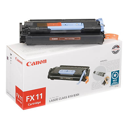 Canon FX-11 Black Fax Cartridge (1153B001AA)