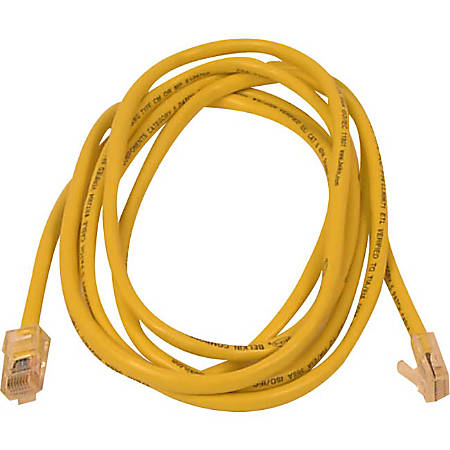 Belkin Cat5e Snagless Networking Cables - Yellow, 14ft.