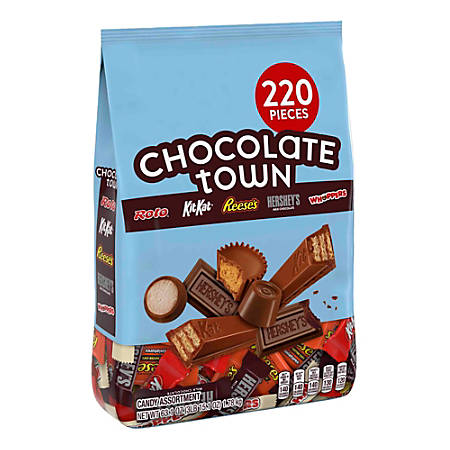 Hershey's® Chocolate Town Candy Assortment, 4-Lb Bag