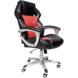 nascar high back bonded leather chair limited edition 45 14 h x 27 w